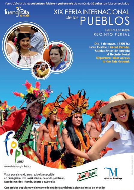 Cartel XIX Feria Internacional de los Pueblos, Fuengirola