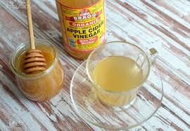 Vinagre de manzana y miel