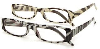 Zebra Print Glasses Frames : Fashion Reads - Debspecs Reading Glasses : February 2012
