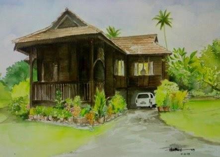 inspirasi desain rumah anda: desain rumah desa