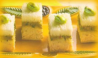 Sánguches de alcachofa a la parmesana