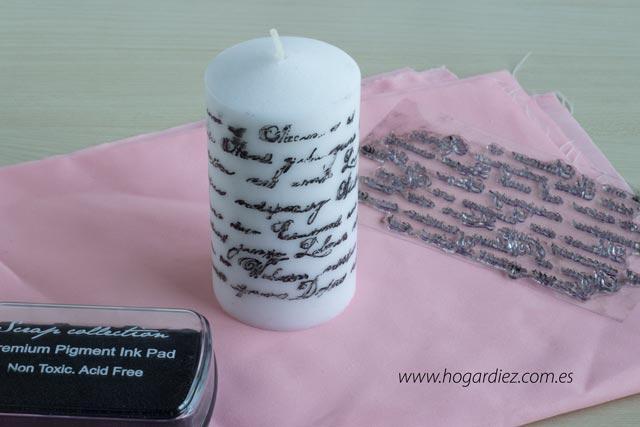 Cómo personalizar una vela diy