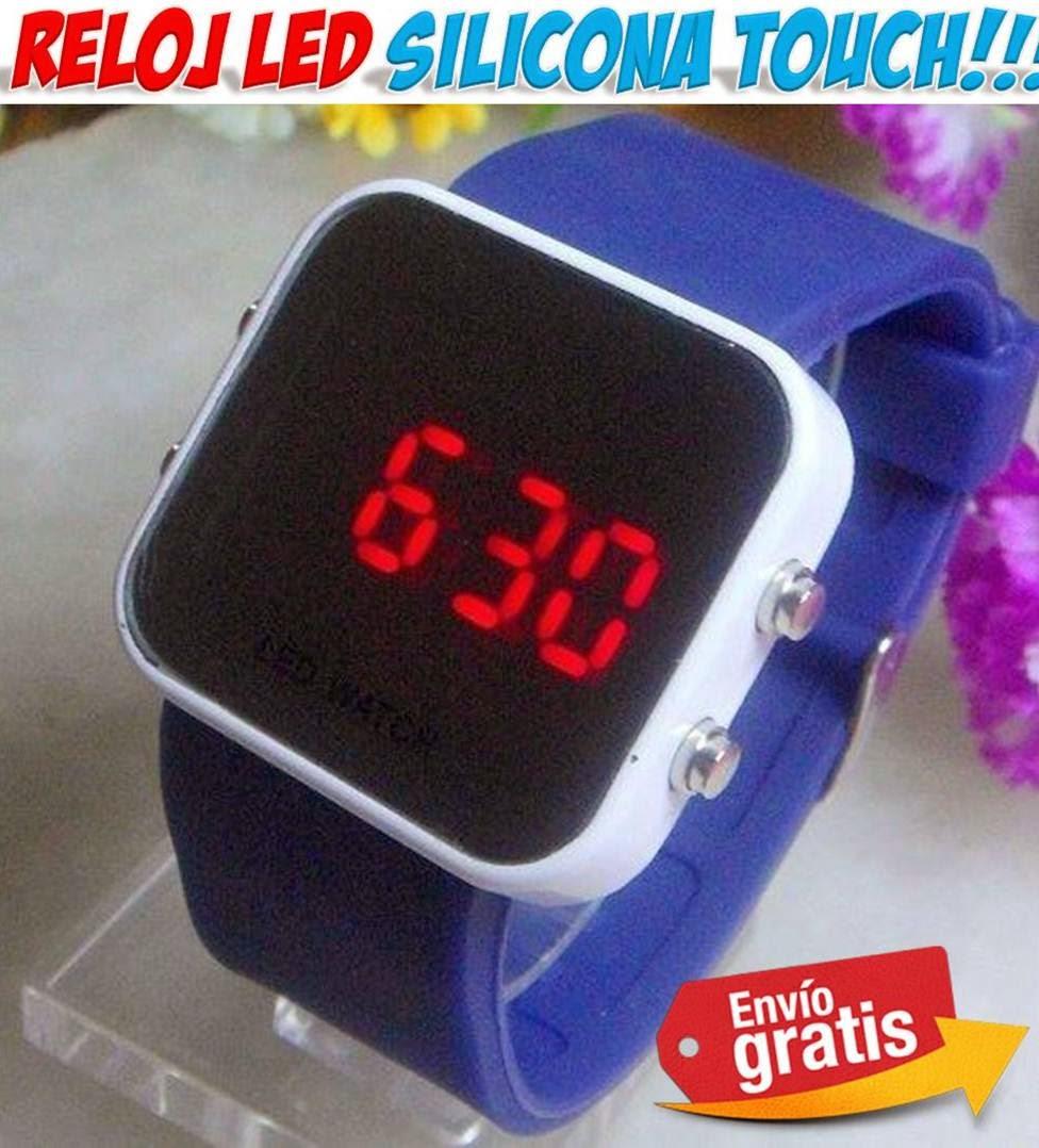 reloj silicona