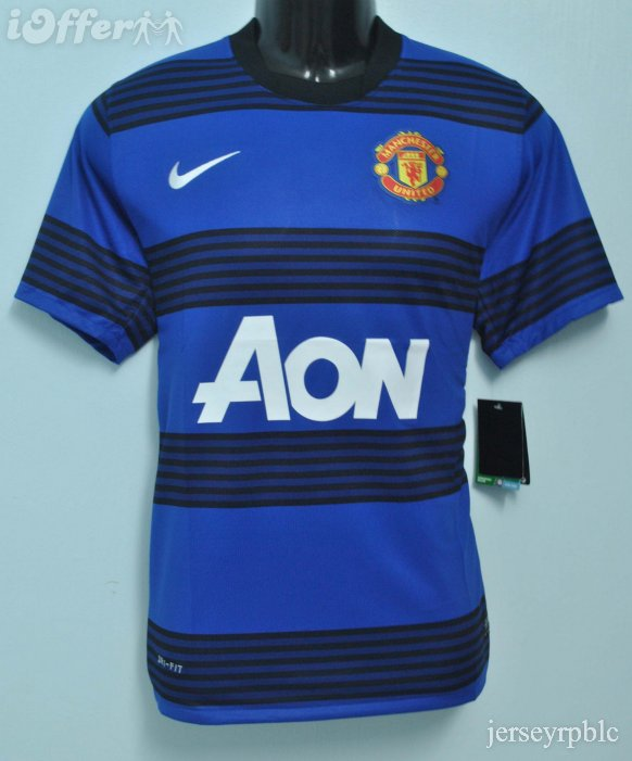 Manchester United 2011 2012 Away Jersey