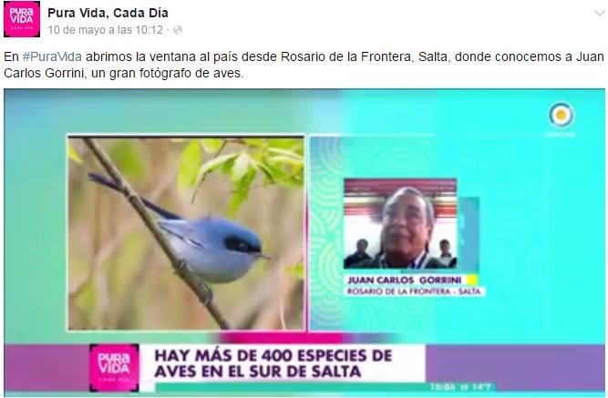 Nota en TV Nacional, programa Karina Mazzocco.