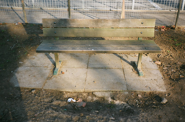 London bench Shepherds Bush Hammersmith and Fulham