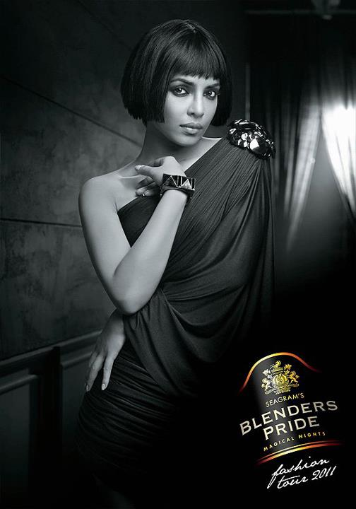 Priyanka Chopra for Blender's Pride Fashion 2011 Pics !