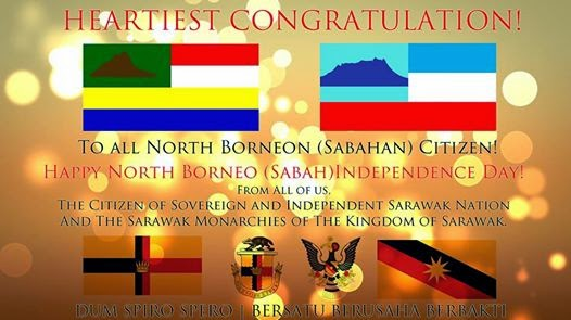 A Letter Of Greeting And Celebration On The 51st Anniversary Independence Day Sovereign State SabahAugust 31st 1963 2014