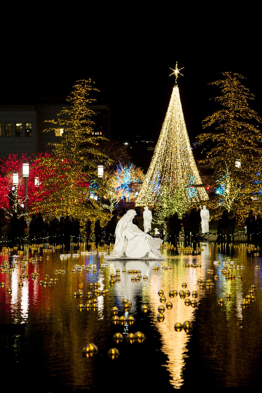 Salt Lake City Temple Square Christmas Lights