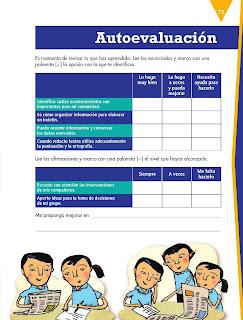 Apoyo Primaria Español 5to grado Bloque II lección 6 Difundir acontecimientos a través de un boletín informativo