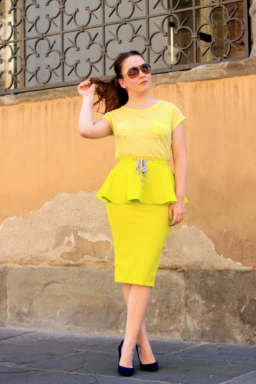 Neon skirt ♥
