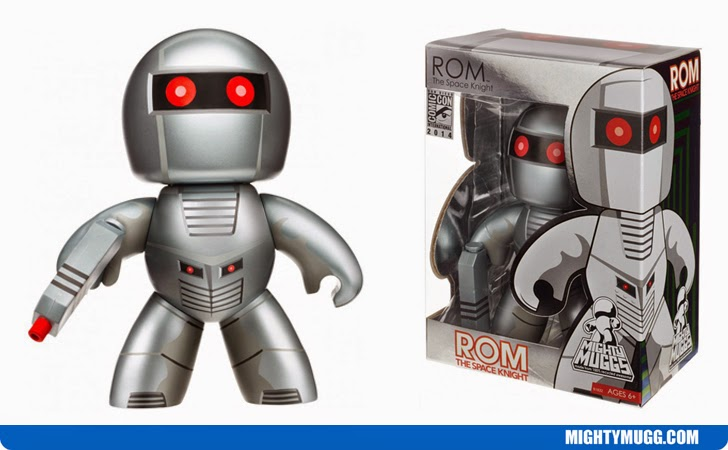 ROM The Space Knight Marvel Mighty Muggs Exclusives
