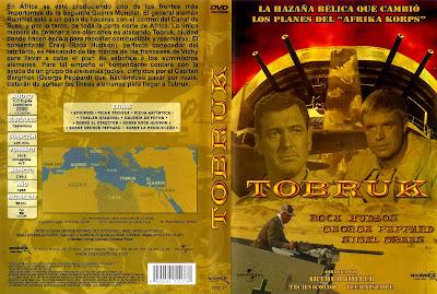 Tobruk (1967) | Caratula | cine clásico bélico