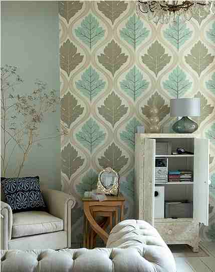 Life is a series of tiny little miracles wallpaper Living room feature wallpaper ideas