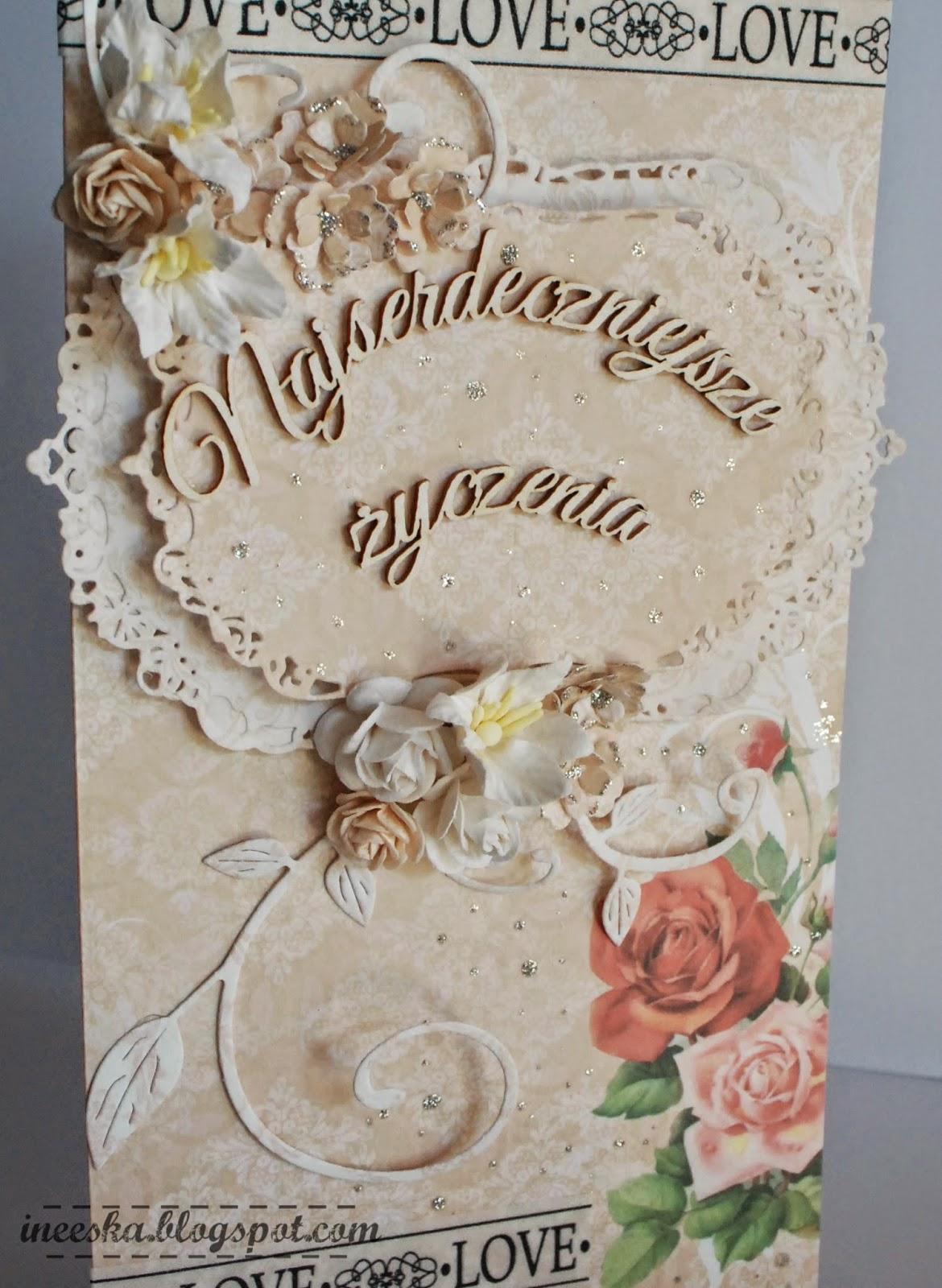 życzenia dla młodej pary,gratulacje, ślub, pudełko z życzeniami