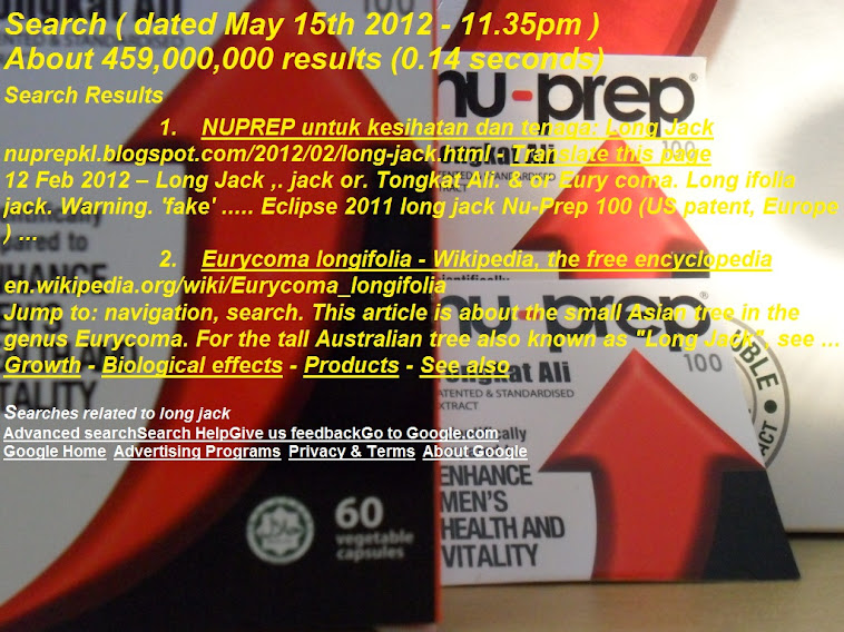 Google Search May15th2012 Top List No1 Nu-Prep100 water soluble extract Freeze Dried US,EUpatent
