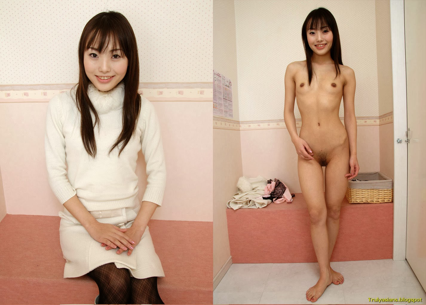 undressed dressed asian