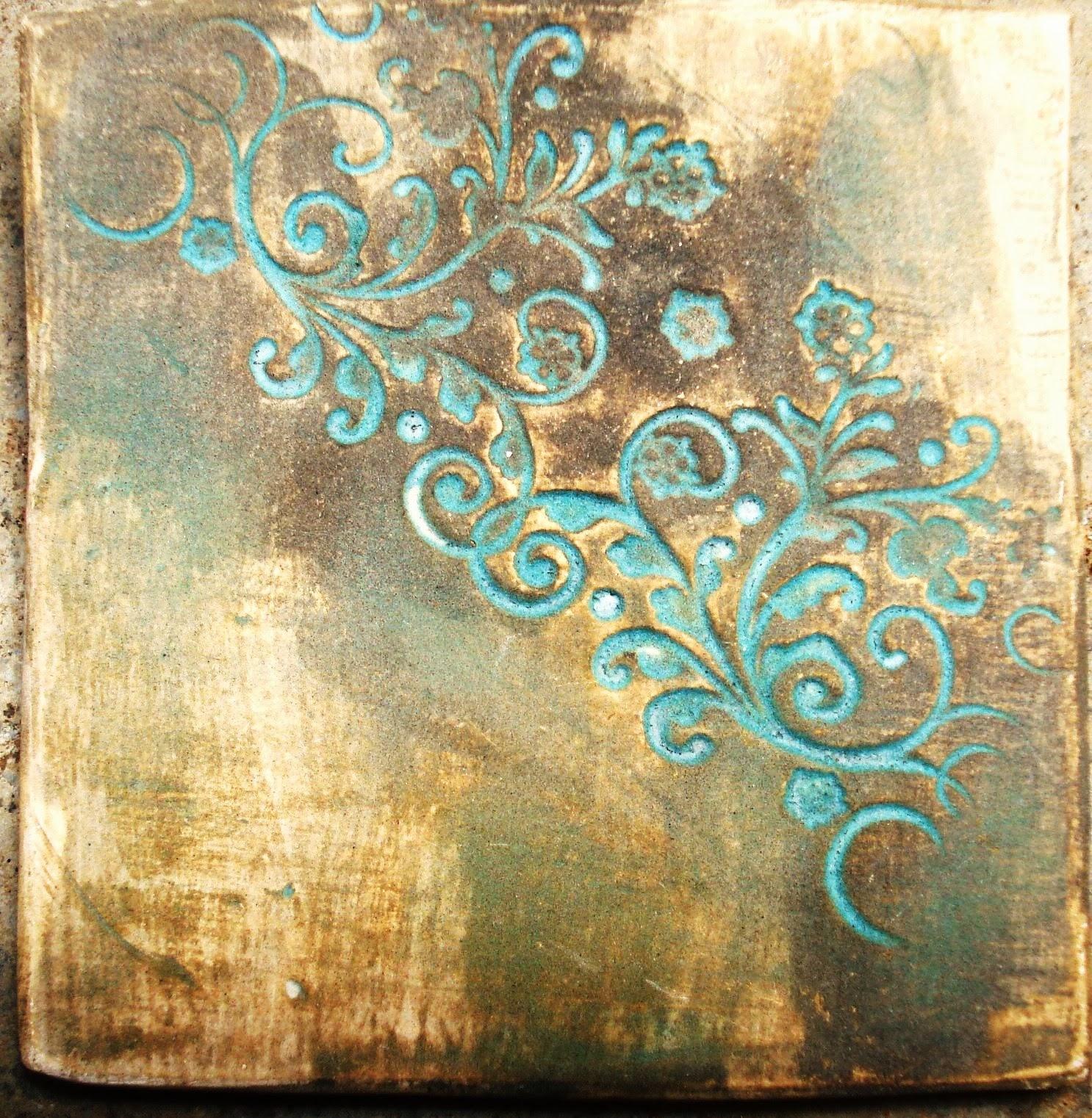 Lu le o ceramista e pesquisadora t cnicas decorativas - Tecnicas decorativas ...