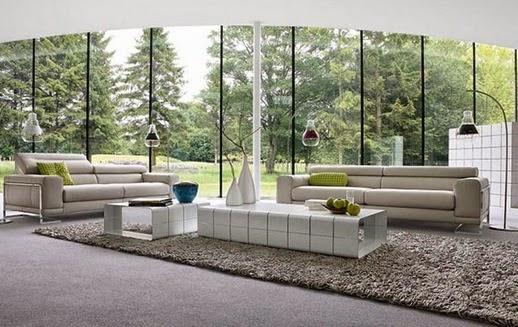 Foto Desain Sofa Modern Untuk Ruang Tamu