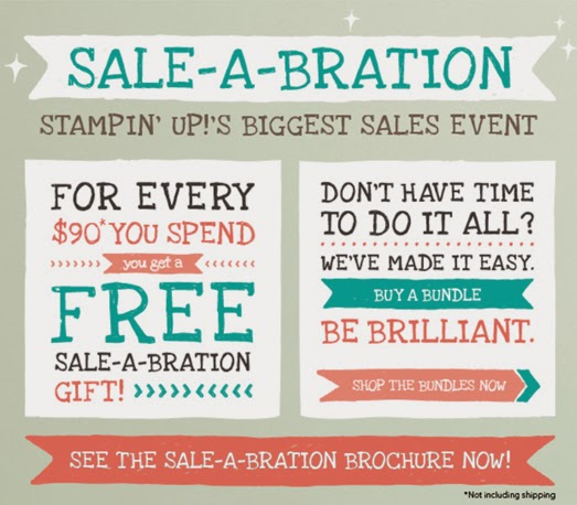 Advertising Sale-a-Bration Promotion