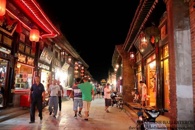 pingyao street night