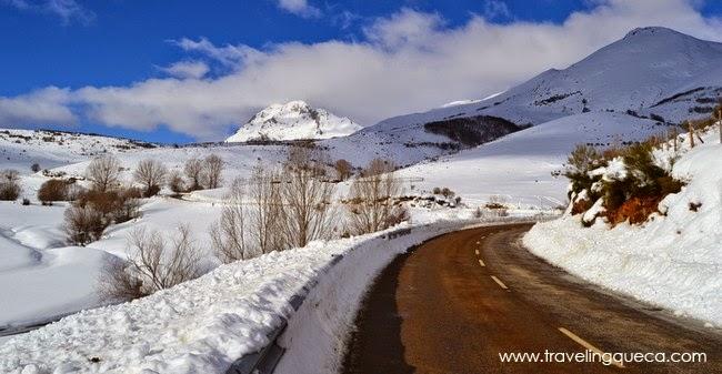 ruta de los pantanos montaña palentina