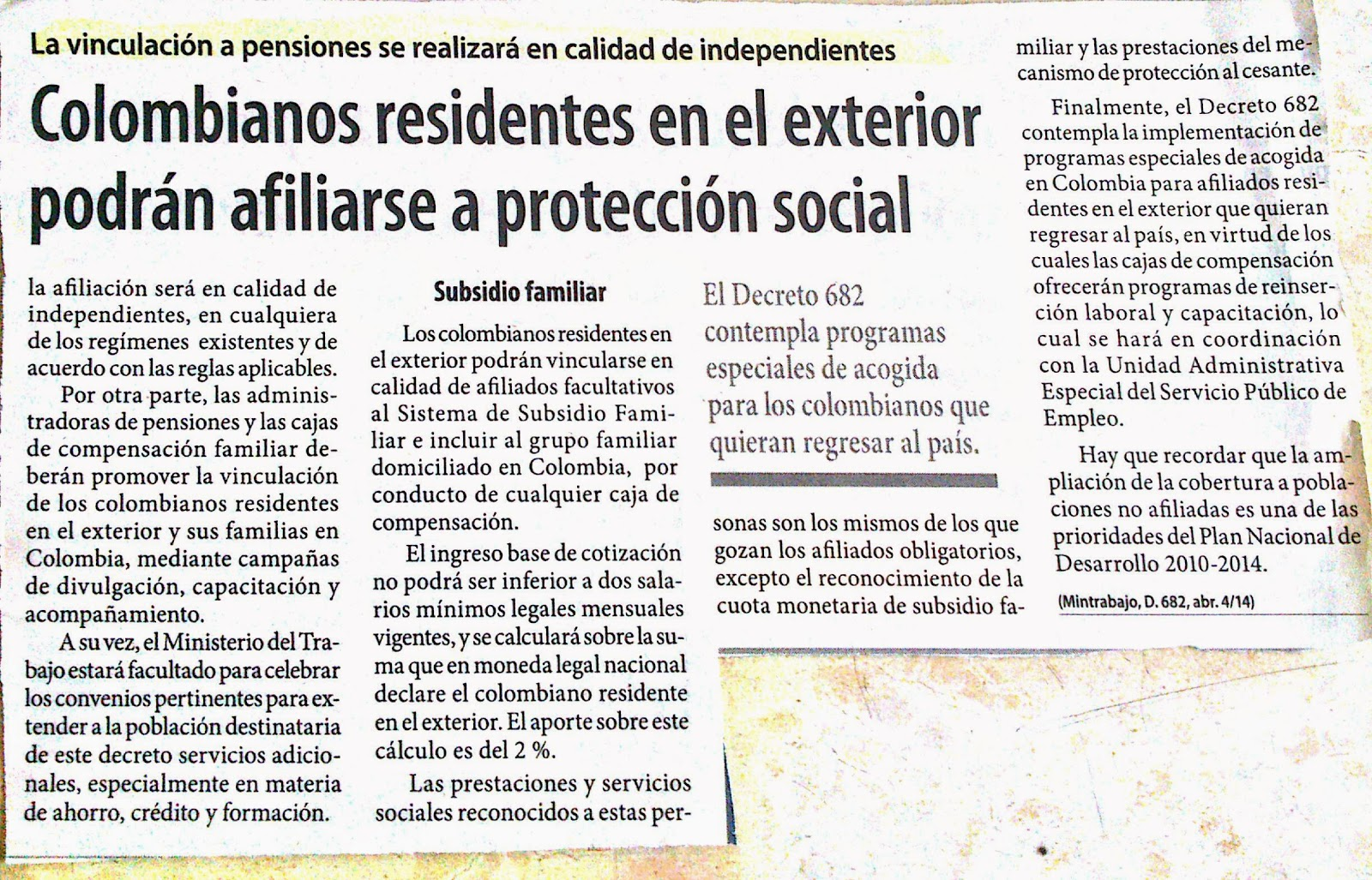 Prestamos A Colombianos Residentes En El Exterior Diez Tesis Sobre Microcreditos