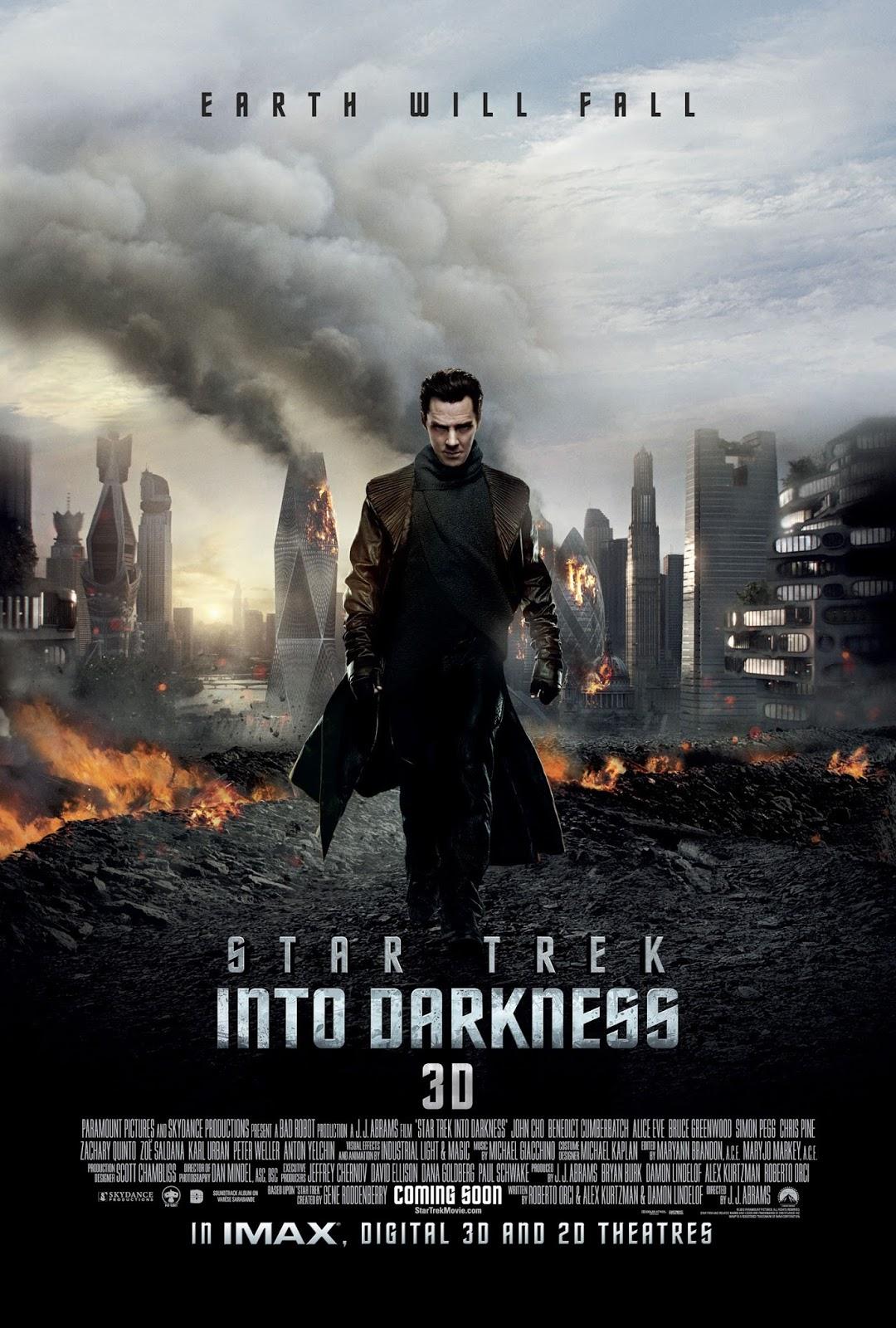 Star Trek 2, en la oscuridad: ¡Larga vida a Abrams!   Cinélico