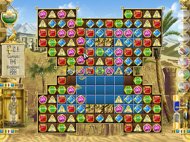 Game Pharaoh Puzzle