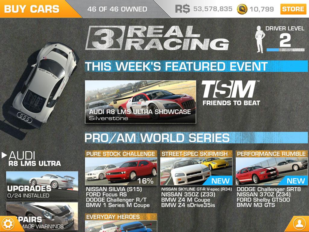 Real Racing 3 Money Hack