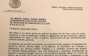 LLEGÓ EL FIN....1 DE NOVIEMBRE INICIA ENTREGA FÍSICA DE OFICINAS DE GOBIERNO A MIGUEL ÁNGEL YUNES