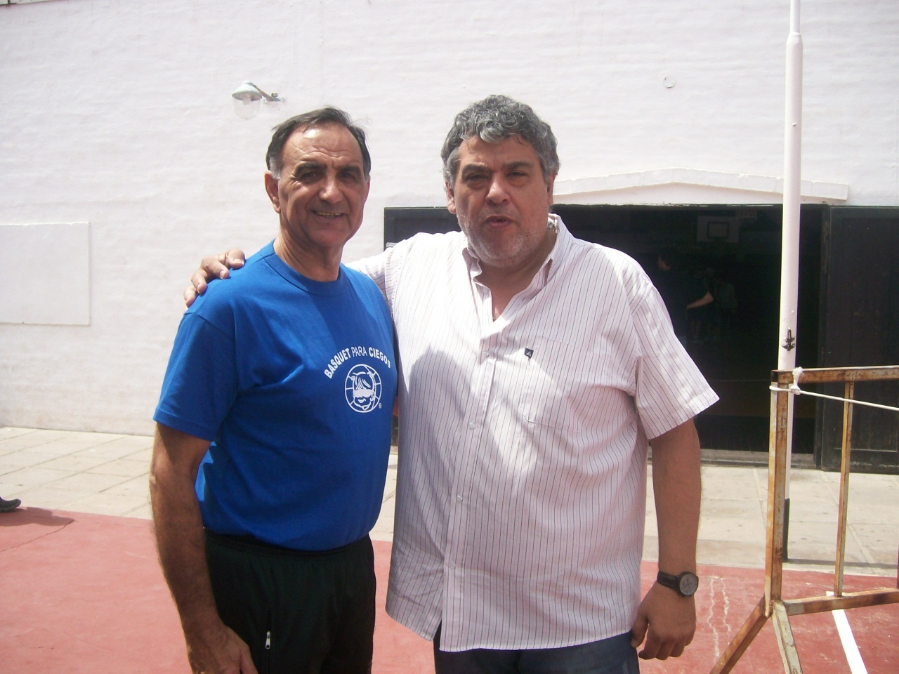 CON EL PROFESOR WALTER GARRONE