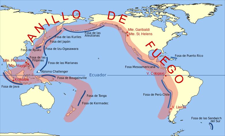 Países más sísmicos del mundo