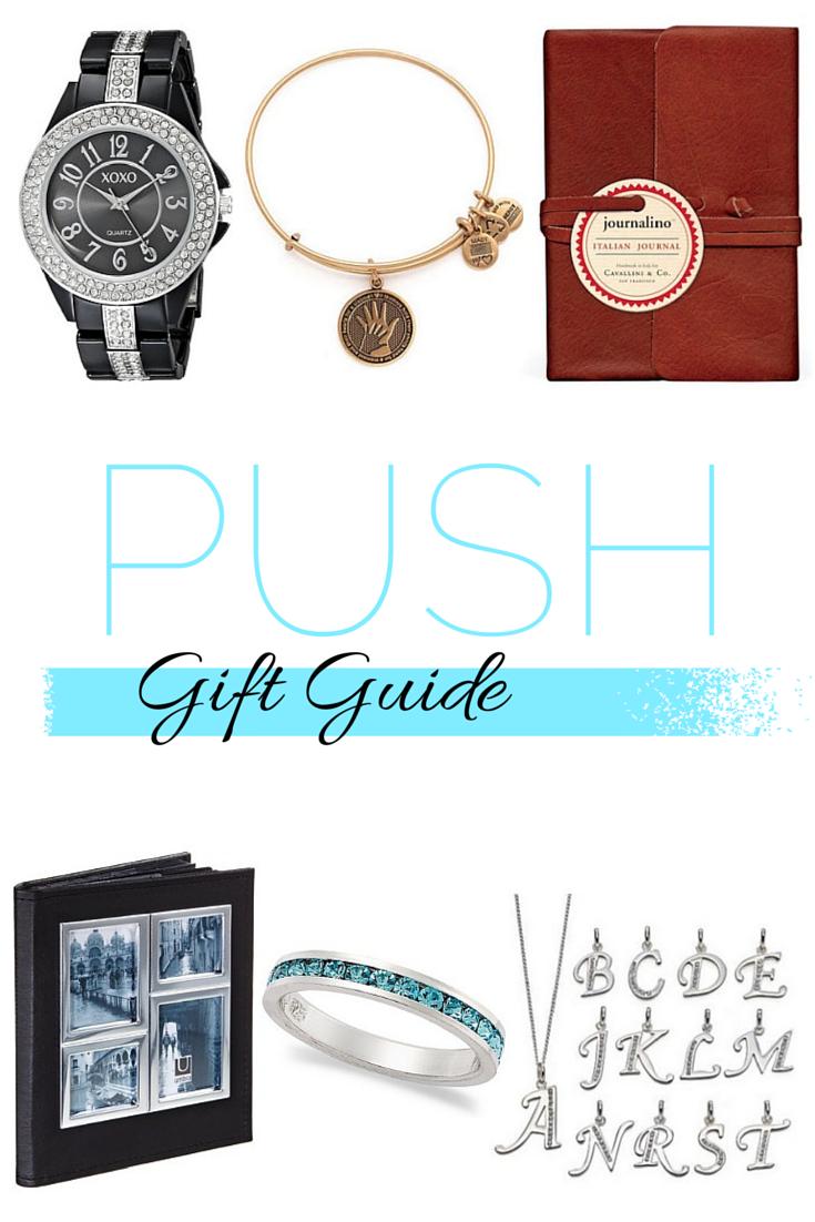 push gift guide, push present