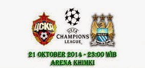 CSKA Moskow vs Manchester City