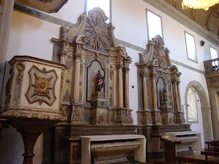 Sitio da Nazare Church Saints photo - Leiria