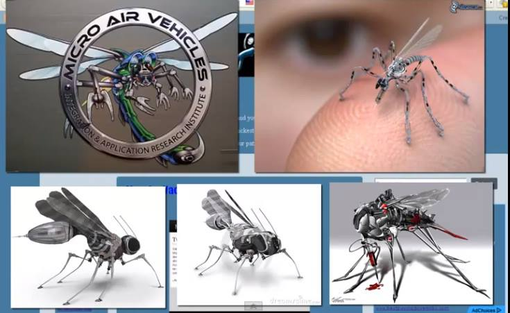Is This A Mosquito No Its An Insect Spy Drone
