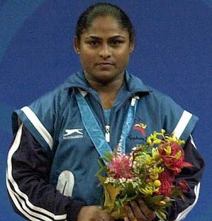 Olympics Bronze Medalist Indian Women Weightlifter Karnam Malleswari