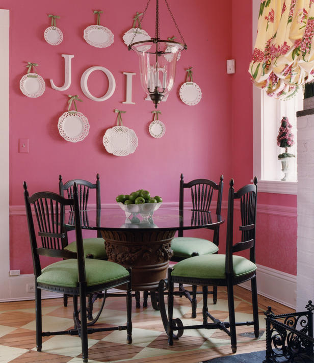 tired of red in dining room help find another color
