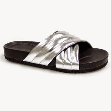 The Fashionable Mum - silver slides