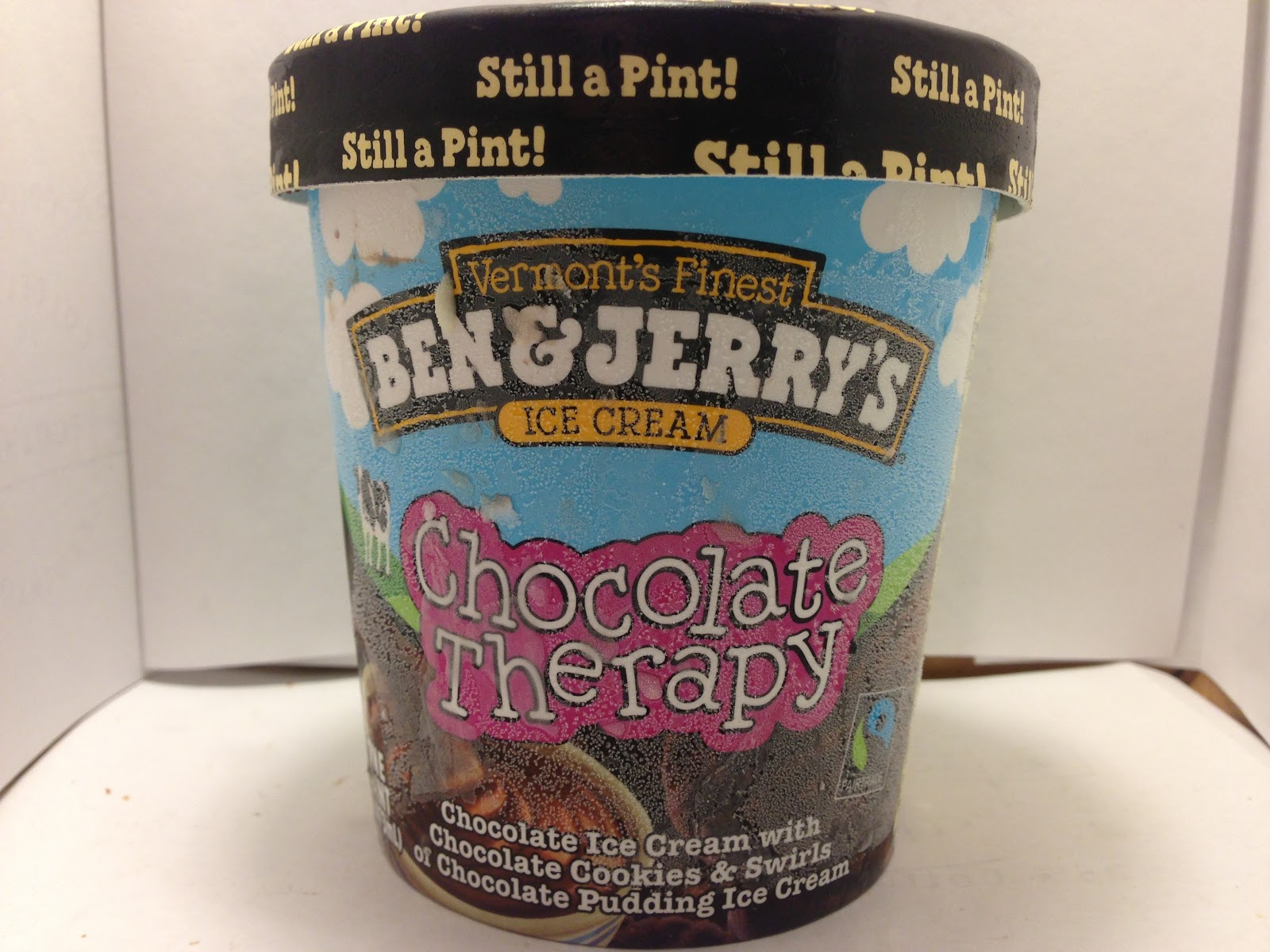 Crazy Food Dude: Review: Ben & Jerry's Chocolate Therapy Ice Cream
