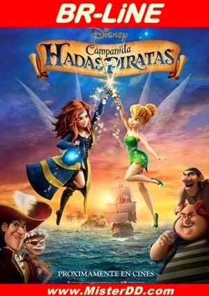 Campanilla, hadas y piratas (2014) [BR-LiNE]
