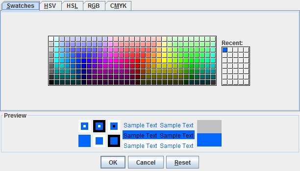 How to use the JColorChooser | Progressive Java
