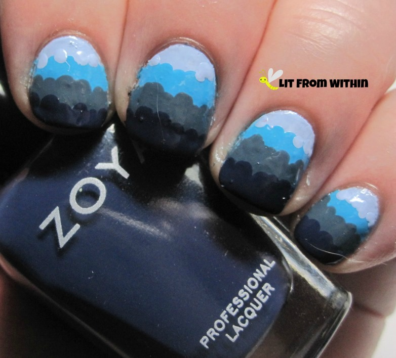 Zoya Sailor, a navy blue creme
