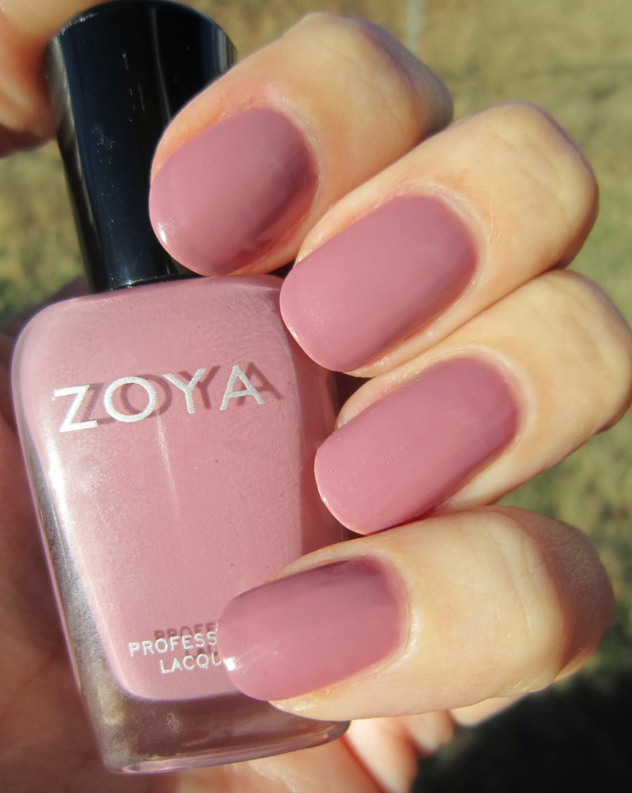 Concrete And Nail Polish Zoya Brigitte