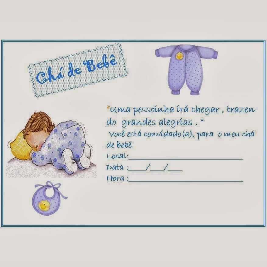 Como fazer convite para chá de bebê 8