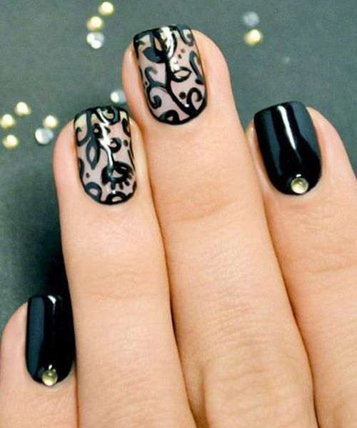 2014 Nail Art Ideas For Prom: Fabulous Prom Nail Art Ideas For You To Rock