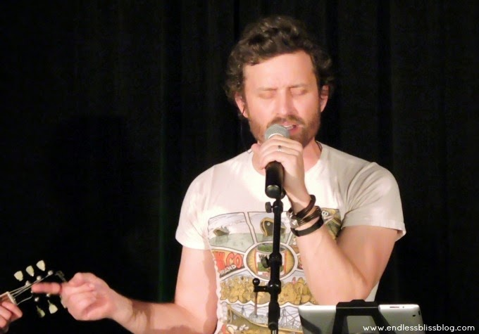 rob benedict and louden swain at supernatural con in houston 2015