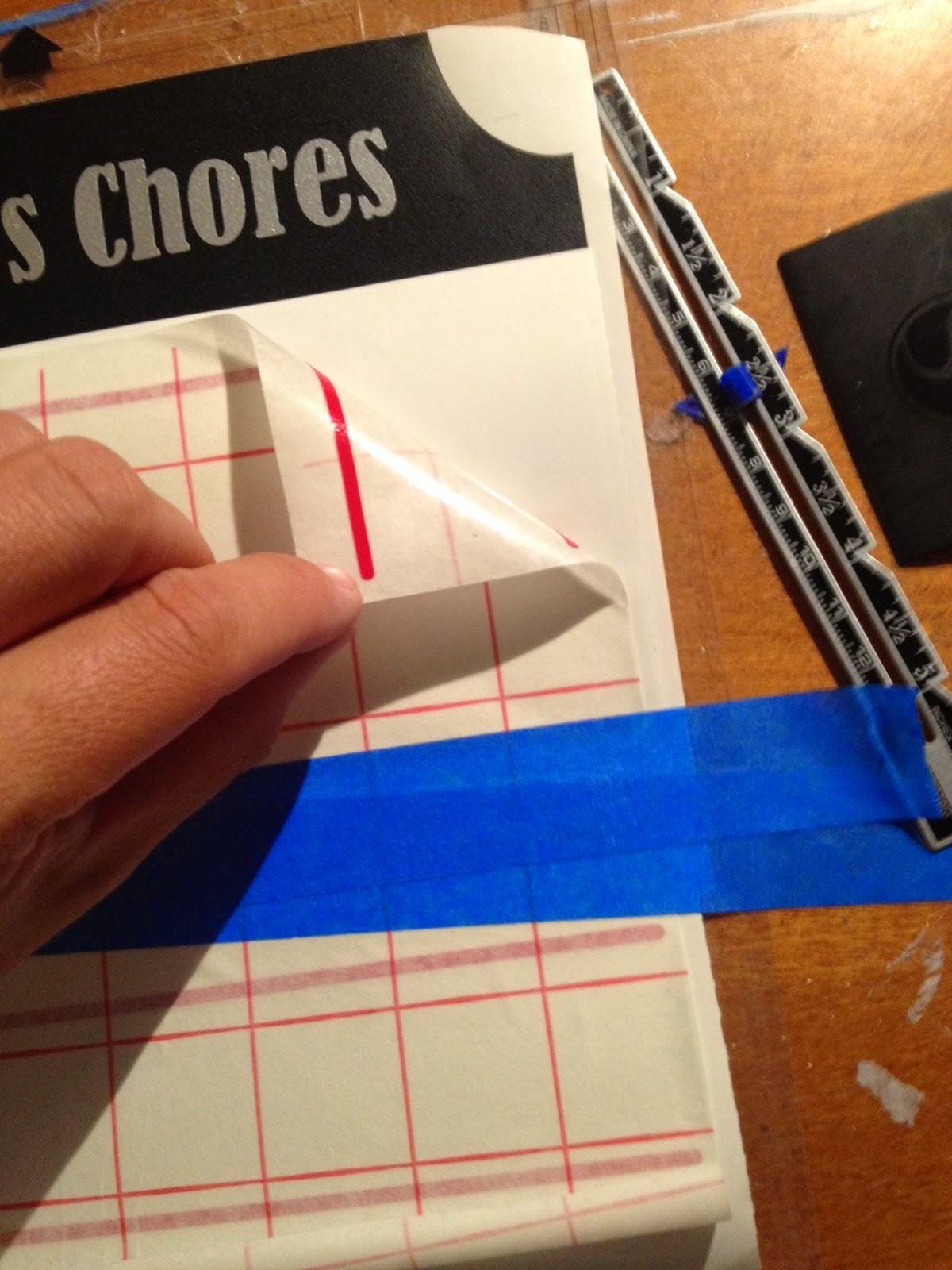 how to apply bold hold tape