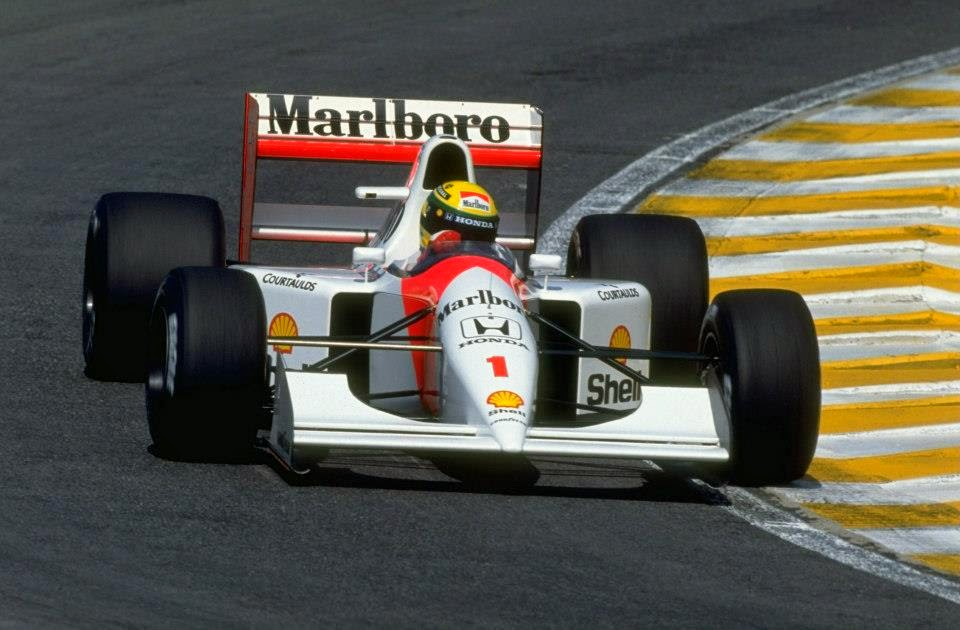 1992 Carro Ayrton Senna Fórmula 1 Mclaren